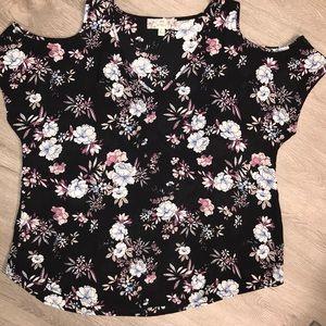 Pink Republic - Cold Shoulder shirt